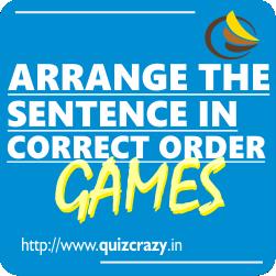 Arrange the Sentence in Correct Order Games