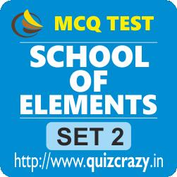 School of Elements Tests Set 2
