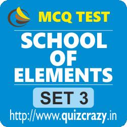 School of Elements Tests Set 3