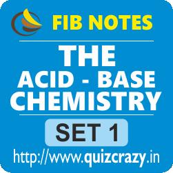 The Acid Base Chemistry Notes Set 1