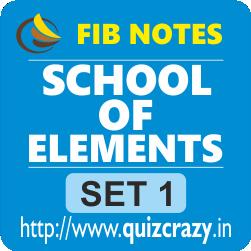School of Elements Notes Set 1