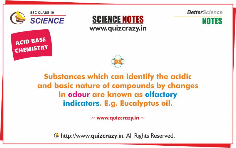 olfactory indicators