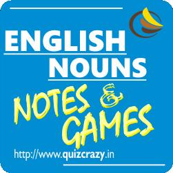 English Nouns Notes Exercises