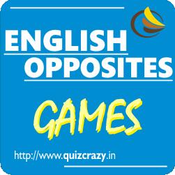 English Opposites Games