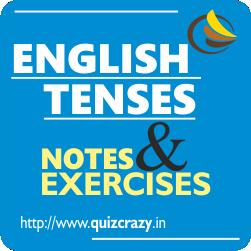 English Tenses Notes Exercises