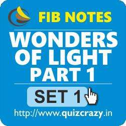 Wonders of Light Part 1 FIB Notes