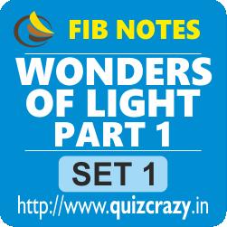 Wonders of Light Part 1 Notes Set 1