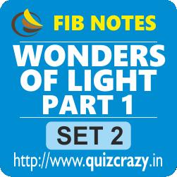 Wonders of Light Part 1 Notes Set 2