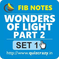 Wonders of Light Part 2 FIB Notes