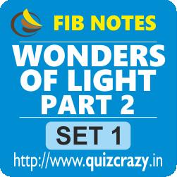 Wonders of Light Part 2 Notes Set 1
