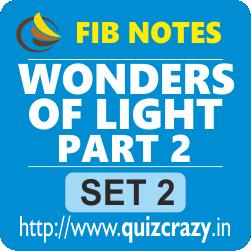Wonders of Light Part 2 Notes Set 2