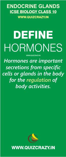 Define Hormones