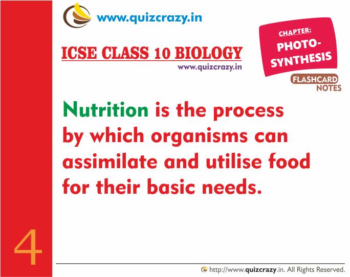 Define Nutrition