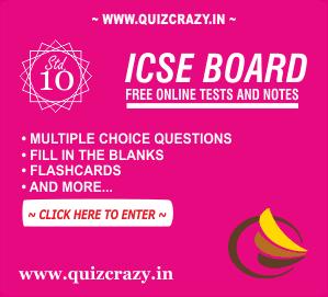 ICSE Board Class 10